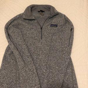 Patagonia Grey 1/4 zip better sweater S